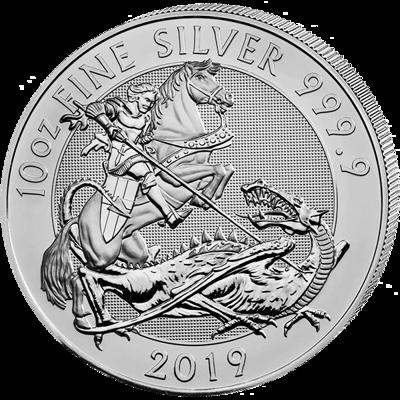 Stříbrná mince 10 Oz Valiant 2019