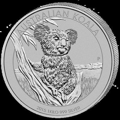 Stříbrná mince 1 kg Australian Koala 2015