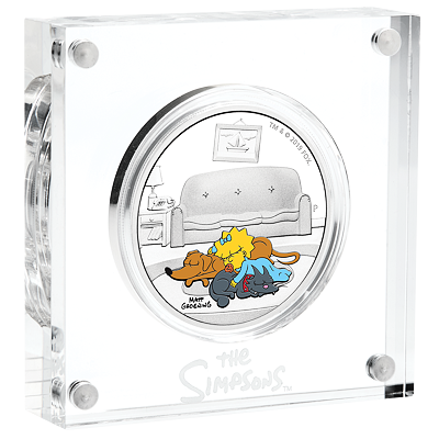 Stříbrná mince The Simpsons™ - Maggie 1 Oz 2019 PROOF - (5.)