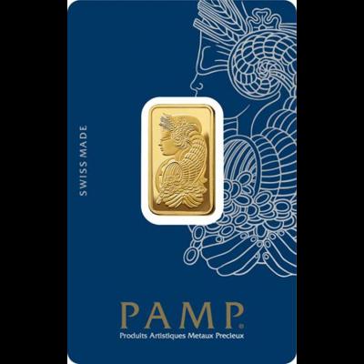 Investiční zlato - zlatý slitek 10g PAMP Fortuna (Tyché)