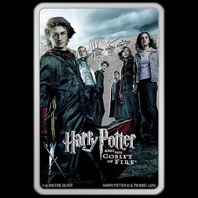 Stříbrná mince Harry Potter™ a Ohnivý pohár (Goblet of Fire) 1 Oz 2020 PROOF - (4.)