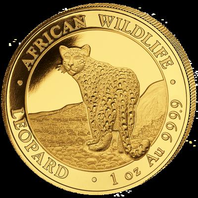 Zlatá mince 1000 Schillings Leopard 1 Oz 2018 (African Wildlife Series)