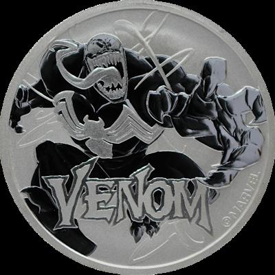 Stříbrná mince 1 Oz Venom™ (Marvel©) 2020 - (8.)