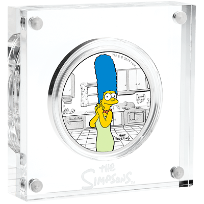 Stříbrná mince The Simpsons™ - Marge 1 Oz 2019 PROOF - (3.)