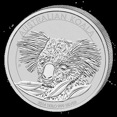 Stříbrná mince 1 kg Australian Koala 2014