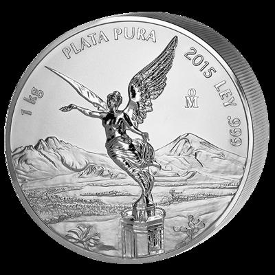 Stříbrná mince 1 kg Libertad