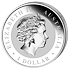 Stříbrná mince 1 Oz Australian Kookaburra (Ledňáček) 2014