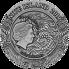 Exkluzivní stříbrná mince Zhao Yun 2 Oz 2019 Gilded High Relief Antique - (1.)