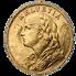 Historická zlatá mince 20 SFR Vreneli