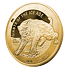 Exkluzivní zlatá mince 1 Oz Tygr šavlozubý 2020 (Doba ledová) PROOF - (3.) číslováno