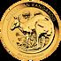 Investiční zlato - zlatá mince 15 AUD Australian Kangaroo (Klokan rudý) 1/10 Oz 2021