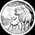 Lunární série III. - stříbrná mince Year of the Ox (Rok buvola) 1 Oz 2021 High Relief PROOF