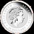 Stříbrná mince 1 kg Australian Kookaburra (Ledňáček) 2017