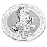 Stříbrná mince 10 Oz The White Horse of Hanover 2021 (The Queen's Beasts)
