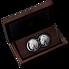 Exkluzivní stříbrné mince Big Five 2x 1 Oz Double Lion (Lev) 2019 PROOF - (2.)