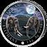 Exkluzivní stříbrná mince Elephant (Slon africký) 1 kg 2020 Giant Moon Edition (African Wildlife Series) PROOF-LIKE