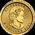 Investiční zlato - zlatá mince 5 CAD Maple Leaf 1/10 Oz