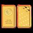Investiční zlato - zlatý slitek 100g Perth Mint