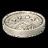Exkluzivní stříbrná mince Sitting Bull (Sedící Býk) 1kg 2020 (Multiple Layer Coin) Antique