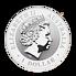 Stříbrná mince 1 Oz Australian Kookaburra (Ledňáček) 1999