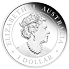 Stříbrná mince 1 Oz Australian Emu 2020 PROOF