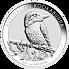 Stříbrná mince 1 Oz Australian Kookaburra (Ledňáček) 2021