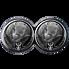 Exkluzivní stříbrné mince Big Five 2x 1 Oz Double Rhino (Nosorožec) 2020 PROOF - (3.)
