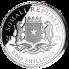 Stříbrná mince 2000 Schillings Elephant (Slon africký) 1 kg 2021 (African Wildlife Series)