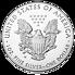 Stříbrná mince Eagle - Apollo 11 - Moon Landing (50.výročí přistání na Měsíci) 1 Oz 2019 - (1.)