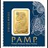 Investiční zlato - zlaté slitky 25 x 1g PAMP Fortuna (Tyché) Multigram