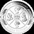 Stříbrná mince Queen Victoria 1 Oz 2019 (200.výročí narození královny Viktorie) PROOF