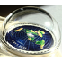 Exkluzivní stříbrná mince Flat Earth - Great Conspiracies 2oz 2019 Proof Colored