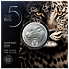 Stříbrná mince Big Five - Leopard 1 Oz 2020 - (4.)